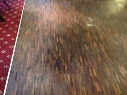 Sanding commercial wood floors Leeds